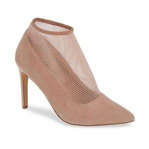 NWT LEITH ANTHROPOLOGIE NUDE MESH SOCK PUMPS